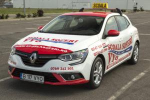 Scoala de soferi - Renault Megane