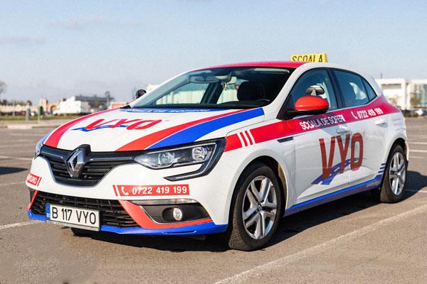 Scoala de soferi - Renault Megane IV